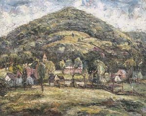 Ernest Lawson - Haystack Mountain, Norfolk, Connecticut