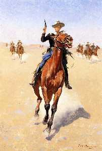 Frederic Remington - The Trooper