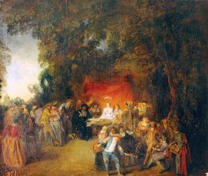 Jean Antoine Watteau - The Marriage Contract