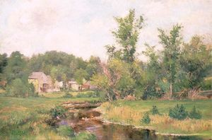 Willard Leroy Metcalf - Farm Scene