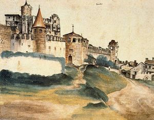 Albrecht Durer - The Bishop's Castle at Trent