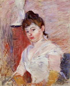 Berthe Morisot - Young Woman in White