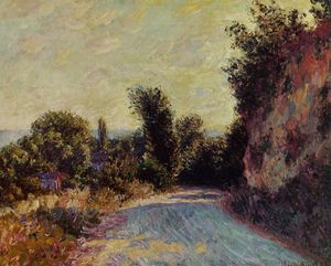 Claude Monet - Road near Giverny