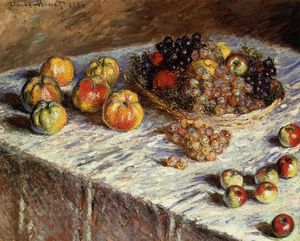Claude Monet - Still Life - Apples and Grapes