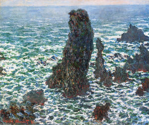 Claude Monet - The Pyramids of Port Coton, Belle-Ile-en-Mer