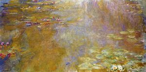 Claude Monet - The Water-Lily Pond 6