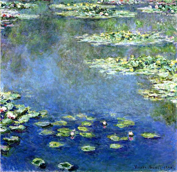 Order Museum Quality Copies | Water Lilies by Claude Monet | Most-Famous-Paintings.com