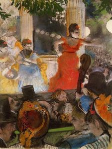 Edgar Degas - Cafe Concert - At Les Ambassadeurs