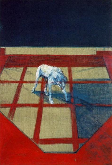 famous painting Dog of Francis Bacon
