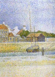 Georges Pierre Seurat - Canale di Gravelines Grand Fort Philippe