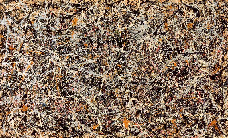 famous painting Number 1, 1949 of Jackson Pollock