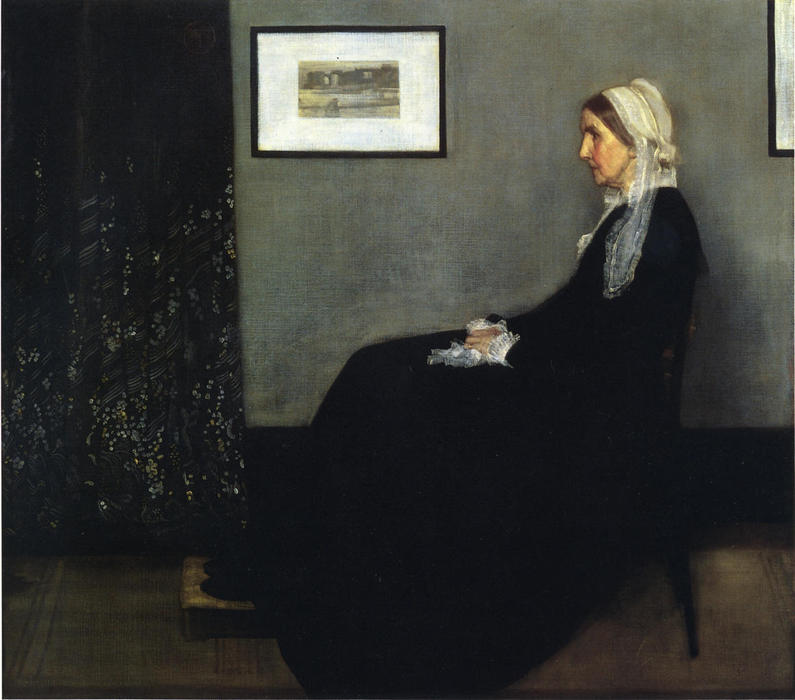 Order Reproductions | Arrangement in Grey and Black. Portrait of the Painter's Mother by James Abbott Mcneill Whistler | Most-Famous-Paintings.com