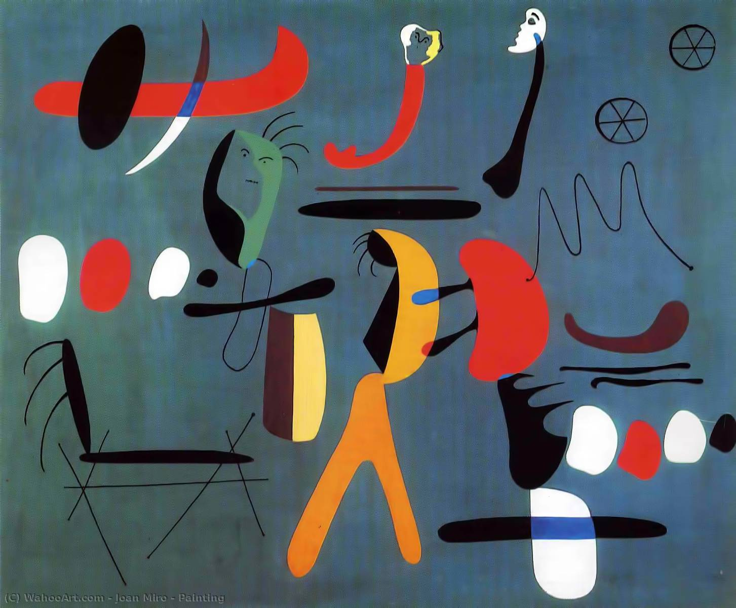famous painting Painting of Joan Miro