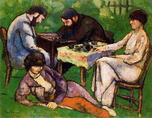 Marcel Duchamp - The chess game