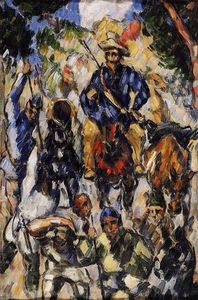 Paul Cezanne - Don Quixote, Seen from the Front