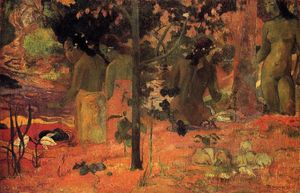 Paul Gauguin - The Bathers