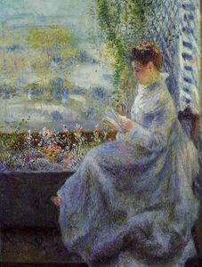 Pierre-Auguste Renoir - Madame Chocquet Reading