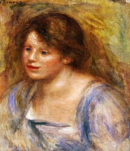 Pierre-Auguste Renoir - Portrait of Lucienne