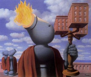 Rene Magritte - The guide