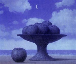 Rene Magritte - The large table