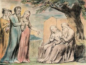 William Blake - Every man also gave him a piece of money 1