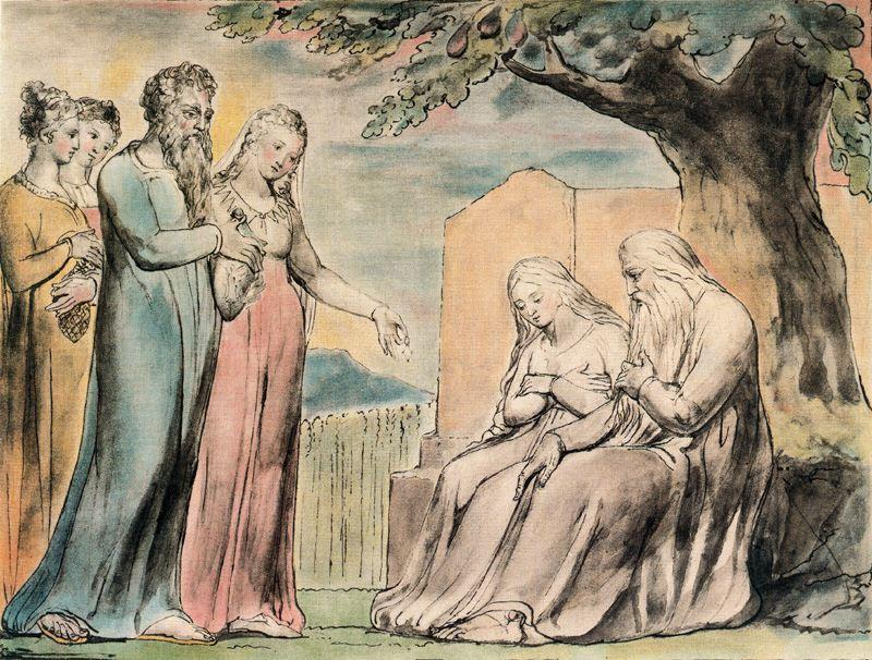 famous painting Every man also gave him a piece of money 1 of William Blake