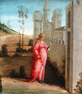 Filippino Lippi - Esther at the Palace Gate