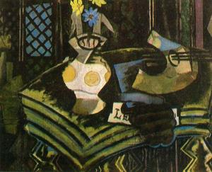 Georges Braque - Still life with palette