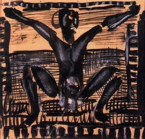 Georges Rouault - Project for the reincarnation of Father Ubu 1