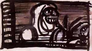 Georges Rouault - Project for the reincarnation of Father Ubu