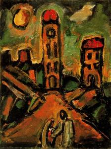 Georges Rouault - Sunset