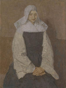 Gwen John - mother Poussepin