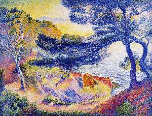Henri Edmond Cross - Cape Layet, Provence
