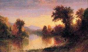 Jasper Francis Cropsey - Autumn by the River