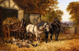 John Frederick Herring Junior - The Hay Cart