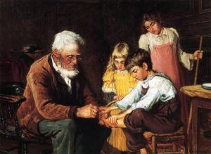John Joseph Enneking - Pulling out the Splinter