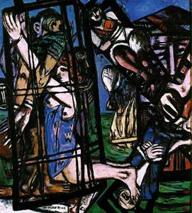 Max Beckmann - The mill