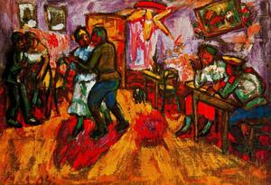 Mikhail Fiodorovich Larionov - Little Cabaret for soldiers