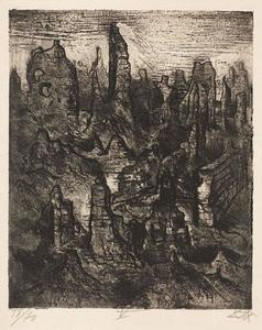 Otto Dix - The ruins of Langemarck
