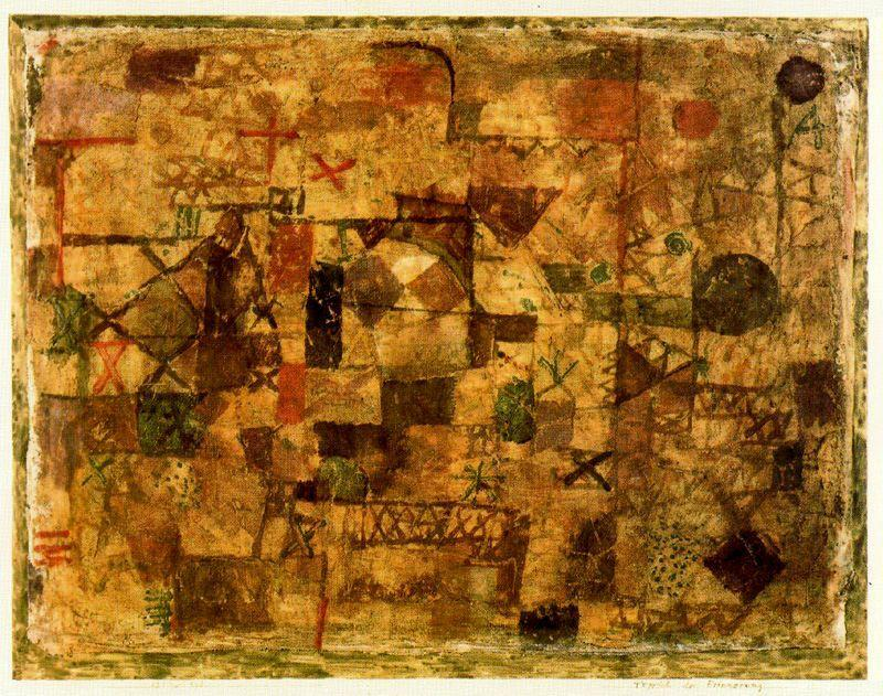 Order Museum Quality Copies | Rug souvenir by Paul Klee | Most-Famous-Paintings.com