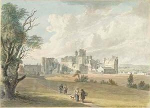 Paul Sandby - Middleham Castle, Yorkshire