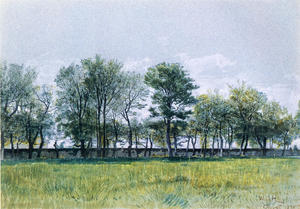 William Stanley Haseltine - Coppet, Lake Geneva 1