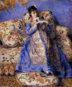 Pierre-Auguste Renoir - Camille Monet Reading