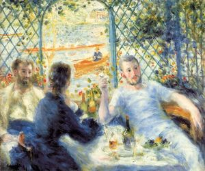 Pierre-Auguste Renoir - The Canoeist's Luncheon