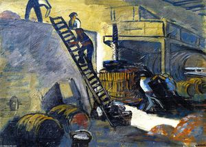 Auguste Chabaud - The Cider Presser