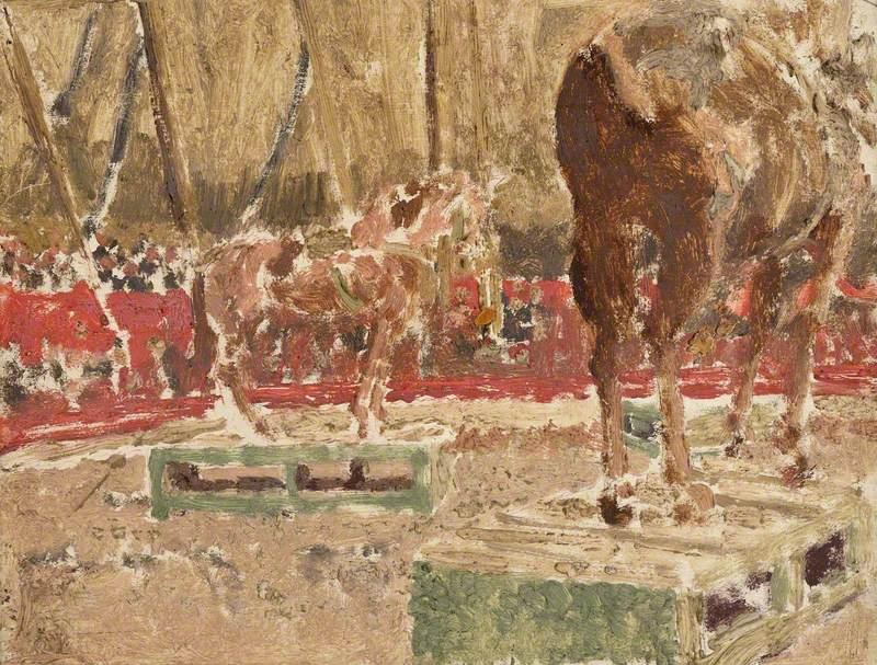 famous painting Circus Sketch of Walter Richard Sickert
