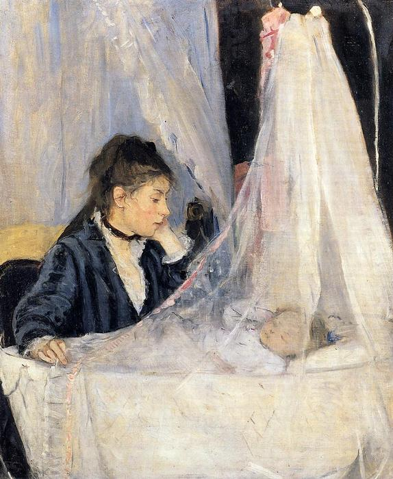 famous painting The Cradle of Berthe Morisot
