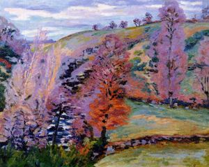 Jean Baptiste Armand Guillaumin - Crozant Landscape (also known as Grey Weather)