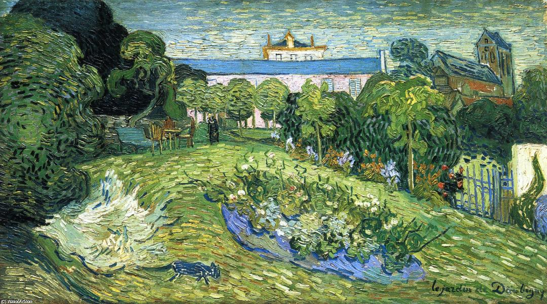 Order Art Reproductions | Daubigny's Garden by Vincent Van Gogh | Most-Famous-Paintings.com