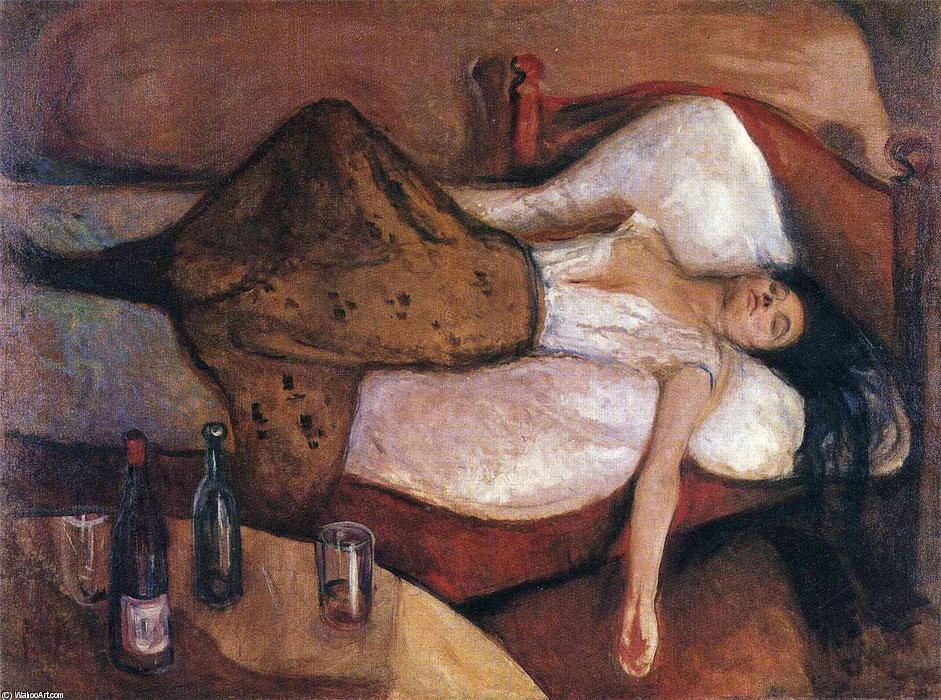 Order Art Reproductions | The Day After by Edvard Munch | Most-Famous-Paintings.com